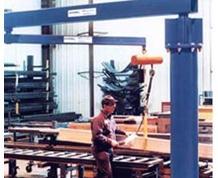 AJ360 Free Standing Articulating Jib Cranes: 360° Rotation
