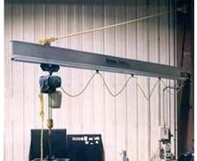 AL100 Aluminum Wall Bracket Work Station Jib Cranes
