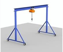 Fixed Height Steel Gantry Crane
